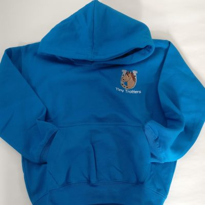Tiny Trotter Blue Hoodie