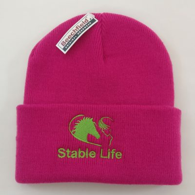 Tiny Trotter Pink Beanie