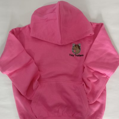 Tiny Trotter Pink Hoodie