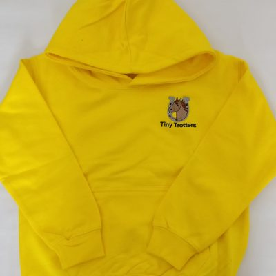 Tiny Trotter Yellow Hoodie