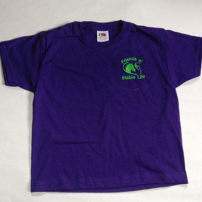 T-Shirt (Purple)